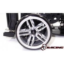 3RACING Sakura D4 1/10 Drift Car(RWD) - Sport Black edition (KIT-D4RWDS/BK)