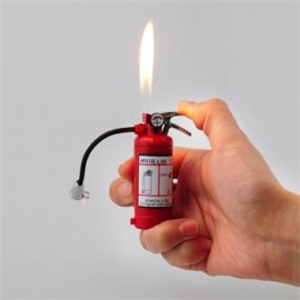 Fire Extinguisher Lighter with Built in LED