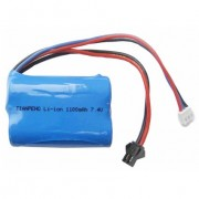 7.4V 800mAh Li-Ion Battery Pack -16050
