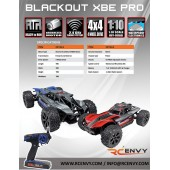 Blackout XBE PRO 1/10 Scale - Spare Parts