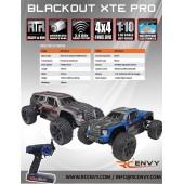 Blackout XTE PRO 1/10 Scale - Spare Parts