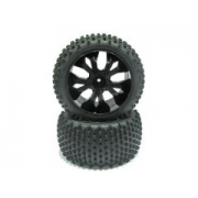 Tire Unit for Caldera XB (2pcs - Rear) - BS701-003