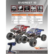 Redcat Racing Everest-10 Scale 1:10  2.4GHz Electric RTR RC Rock Crawler