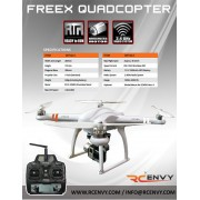 Skyartec FreeX Quadcopter LCD 2.4GHz RTF RC Drone