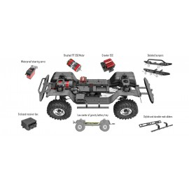 Redcat Racing GEN8 Scout II1/10 Scale Rock Crawler