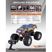 Ground Pounder 1/10 Scale - Spare Parts