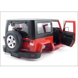 1/10 Scale RC Jeep Wrangler Rubicon Hard Plastic Body Kit