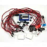 GT Power 12 Car LED Flashing System