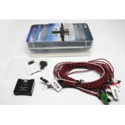GT Power Flight Simulated and Flashing System/ Navigation Light for RC Airplane