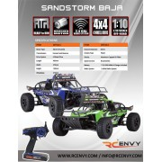 Redcat Racing Sandstorm 1/10 Scale Electric Baja Buggy