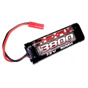 7.2V 3800mAh NiMh with Banana 4.0 Connector - HX-3800MH-B