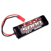 7.2V 5000mAh NiMh with Banana 4.0 Connector - HX-5000MH-B