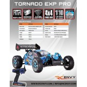 Tornado EPX PRO 1/10 Scale - Spare Parts