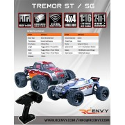 Redcat Racing Tremor Series 1/16 Scale Electric Truck & Truggy