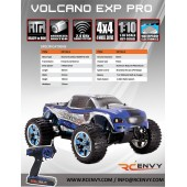 Volcano EPX Pro 1/10 Scale - Spare Parts